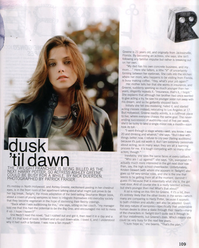 Nylon Magazine (Nov 08)