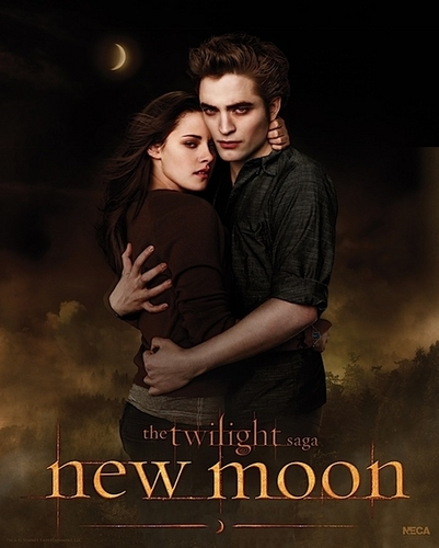OMG BELLA AND EDWARD OFFICIAL POSTER FROM NEWMOONMOVIE.ORG