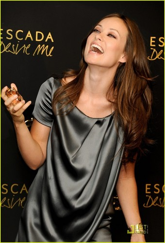 """Olivia Wilde Presents Escada Fragance """"Desire Me"""""""