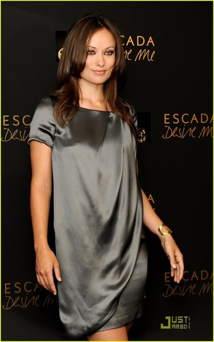 "Olivia Wilde Presents Escada Fragance ""Desire Me"""
