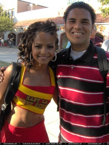 On the Set of 'Bring It On Fight To The Finish""