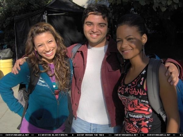 """On the Set of 'Bring It On Fight To The Finish"""""""