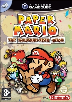 Super Mario Bros wallpaper possibly containing Anime called Paper Mario TTYD