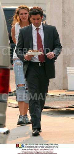 Patrick Dempsey on the Set