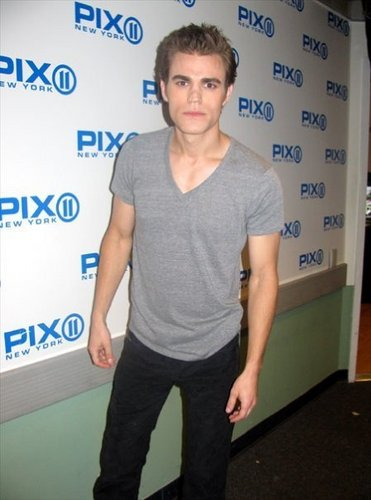 Paul Wesley - NY PIX Morning News