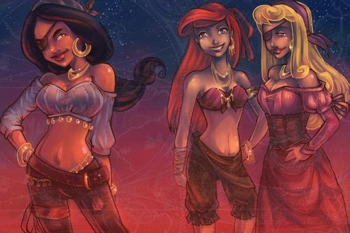 Pirate Princesses