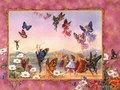 Fairy Butterflies,Wallpaper