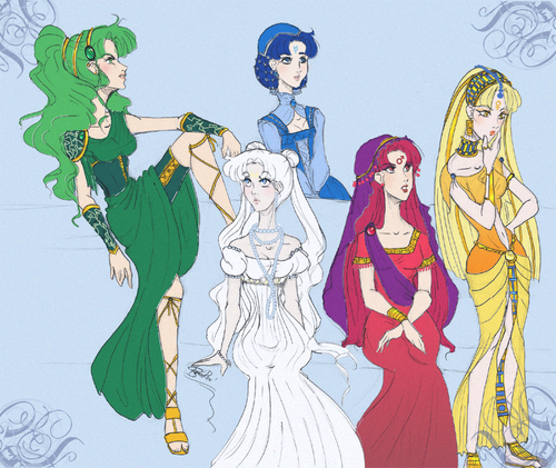 Princesses redesign