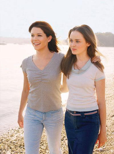 Promotional: Lorelai & Rory
