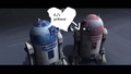 R-2-D-2 and his girlfriend - star-wars-clone-wars fan art