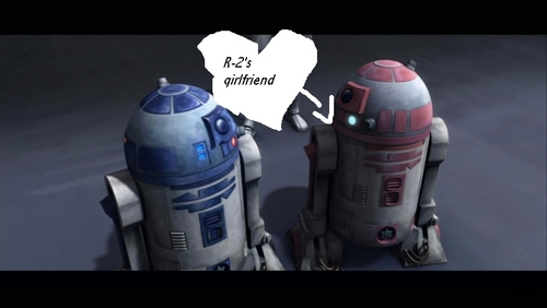 étoile, étoile, star Wars: Clone Wars fond d'écran possibly with a vacuum and a aspirateur, hoover called R-2-D-2 and his girlfriend