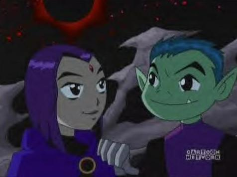 Raven and Beast Boy