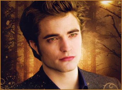 Robert as Edward in New Moon