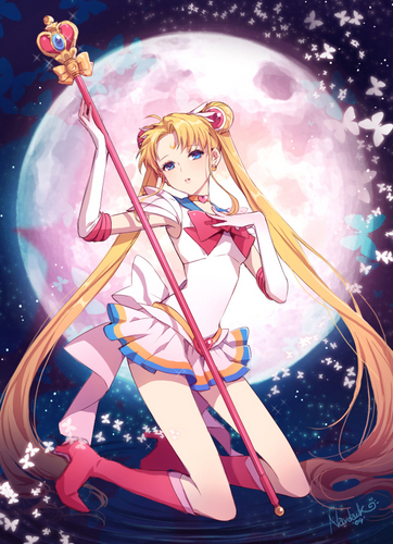 Sailor Moon Hintergrund titled Sailor Moon