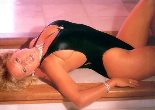 Samantha Fox wallpaper containing a leotard and a maillot called Sam for sexy!