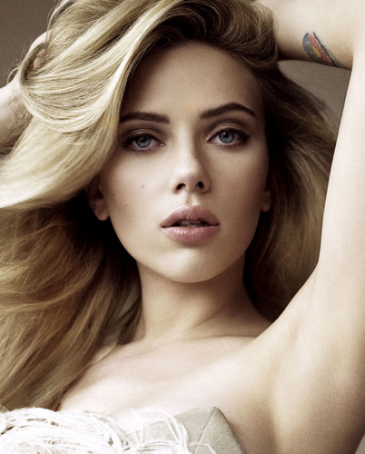 Pelakon wanita kertas dinding containing a portrait called Scarlett Johansson (HQ)