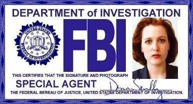 Scully's Badge And ID