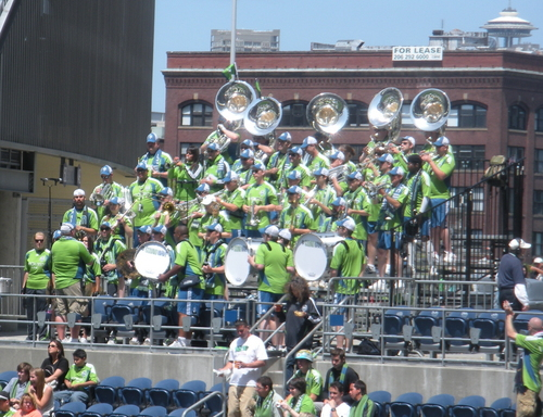 Seattle Sounders Band