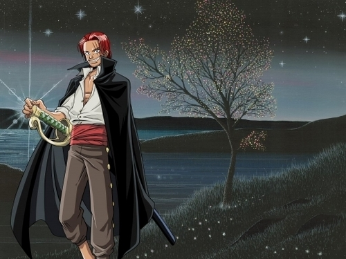 One Piece Wallpaper Titled Shanks