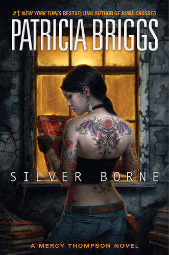 Mercy Thompson Series fond d'écran probably with a sign and animé called Silver Borne Book Cover