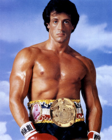 Sylvester Stallone wallpaper with a hunk and a six pack titled Sly