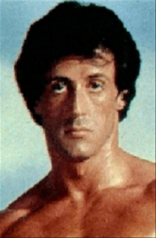 Sylvester Stallone wallpaper with skin and a portrait called Sly