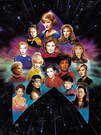 le donne di Star Trek