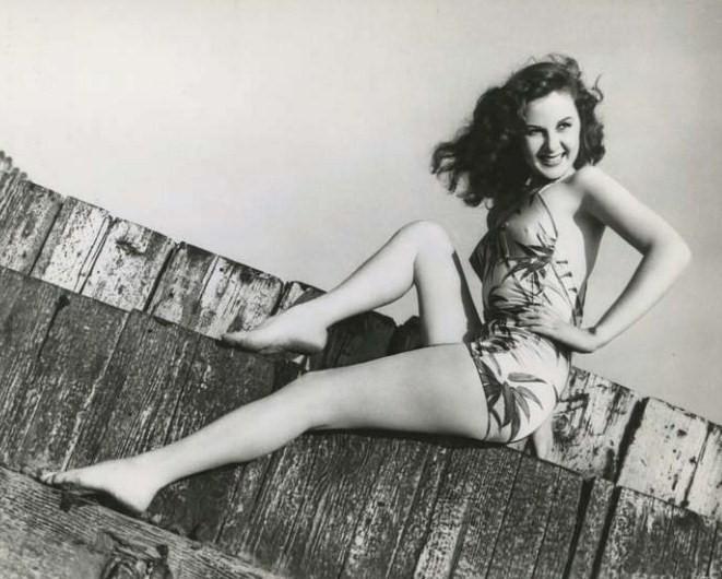 Susan Hayward: đồ bơi, áo tắm siren
