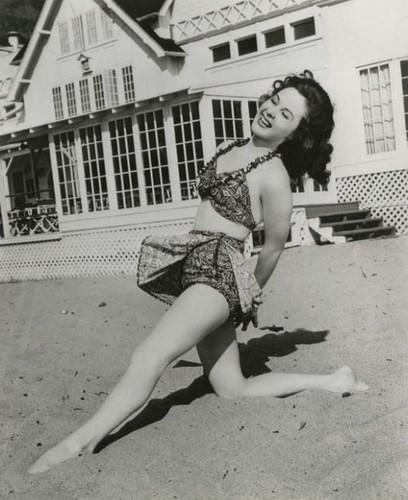 Susan Hayward: купальник siren