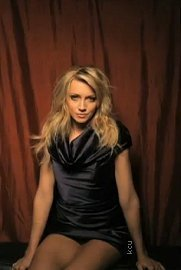 Melrose Place wallpaper possibly containing a bustier, tights, and a leotard called TV Guide Photoshoot - Katie Cassidy