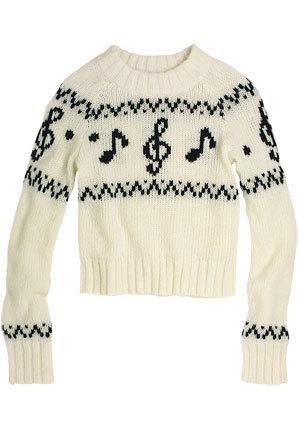 Taryn Music Note Sweater