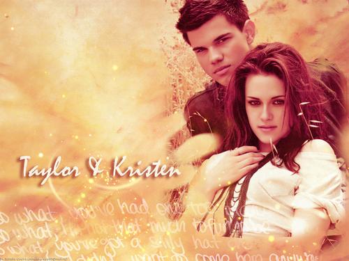 Taylor & Kristen वॉलपेपर