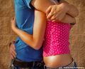 Teen love - teenagers photo