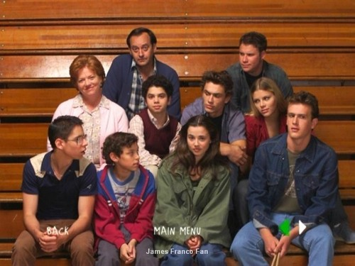 Freaks and Geeks wallpaper probably with a sign titled The Cast Of Freaks and Geeks