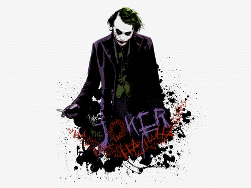 小丑 壁纸 called The Joker
