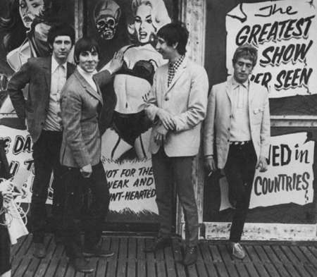 The 60's wallpaper with a street entitled The Who