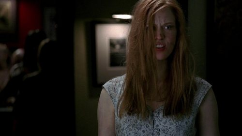 Deborah Ann Woll 바탕화면 possibly with a portrait entitled True Blood (1.11): To 사랑 Is to Bury