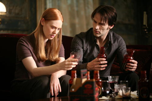 Deborah Ann Woll wallpaper titled True Blood S2 Still