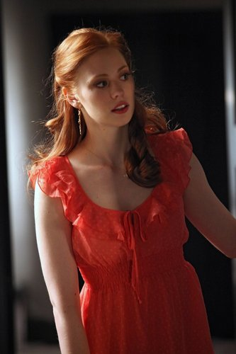 Deborah Ann Woll wallpaper probably with a nightwear, a cocktail dress, and a chemise titled True Blood S2 Still