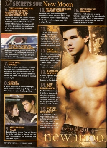 Twilight / New Moon <3 [The magazine is in French]