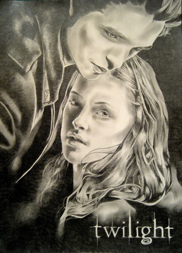 Twilight Poster Drawing