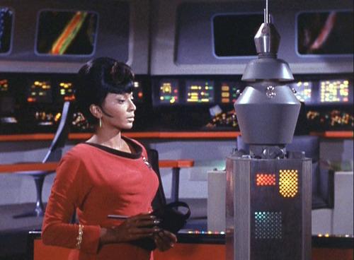 Uhura in ''Changeling''