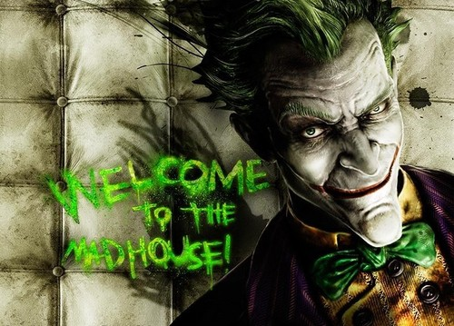 Welcome to Arkham Asylum