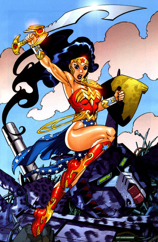 "Wonder Woman ""manga"""