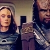 Worf photo probably containing a surcoat and anime called Worf_The Emmissary