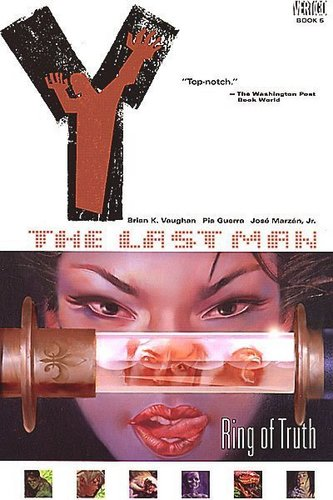Y: The Last Man TPB Covers