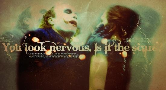 You look nervous...