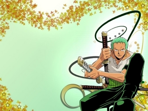 one piece wallpaper probably with a sepeda beroda tiga, velocipede entitled Zoro