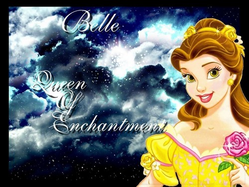 Princess Belle wallpaper possibly with a portrait and anime entitled belle