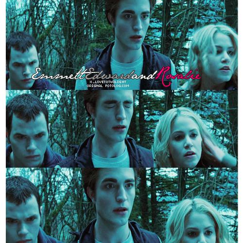 emmett, edward&rosalie